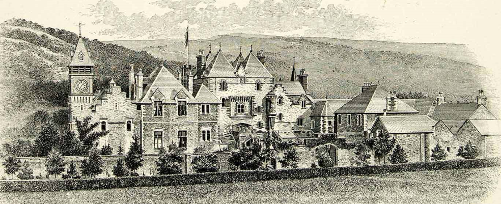 Craig y Nos Castle old Picture 1880 ish