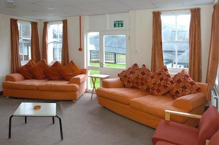 Brecon Beacons Hotels - Nurses Block  Lounge Craig y Nos Castle