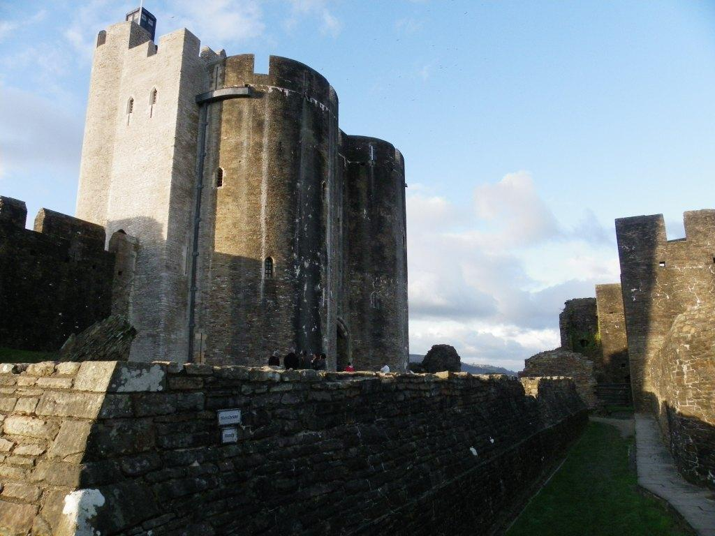 Caerphilly Castle main tower