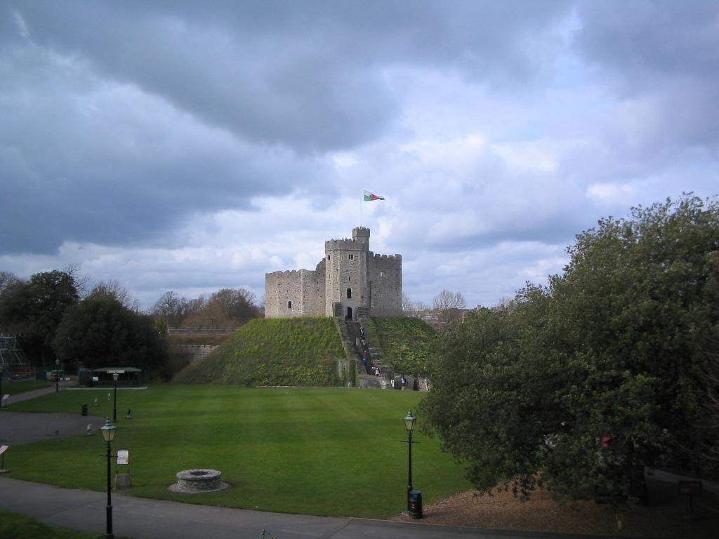 Cardiff Castle Prison Tower