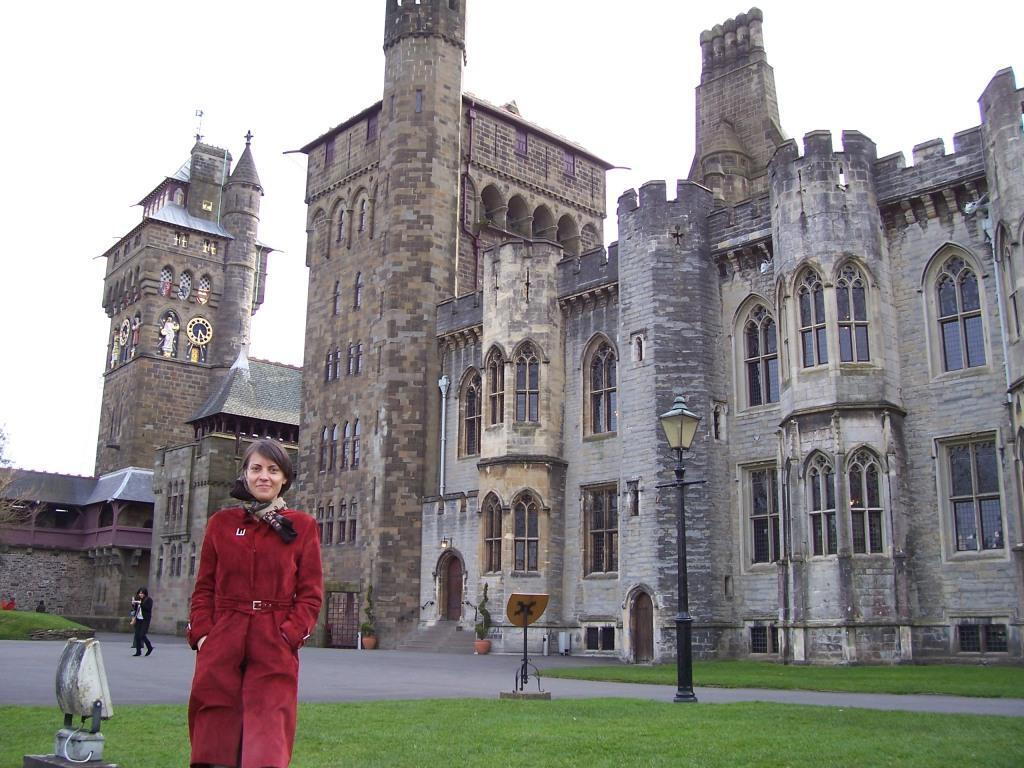 Cardiff Castle and Olya Gover