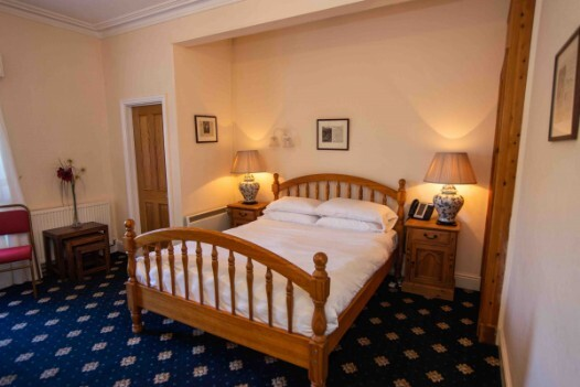 Dog Friendly hotels  in Wales - Craig y Nos Castle AB36 Bedroom