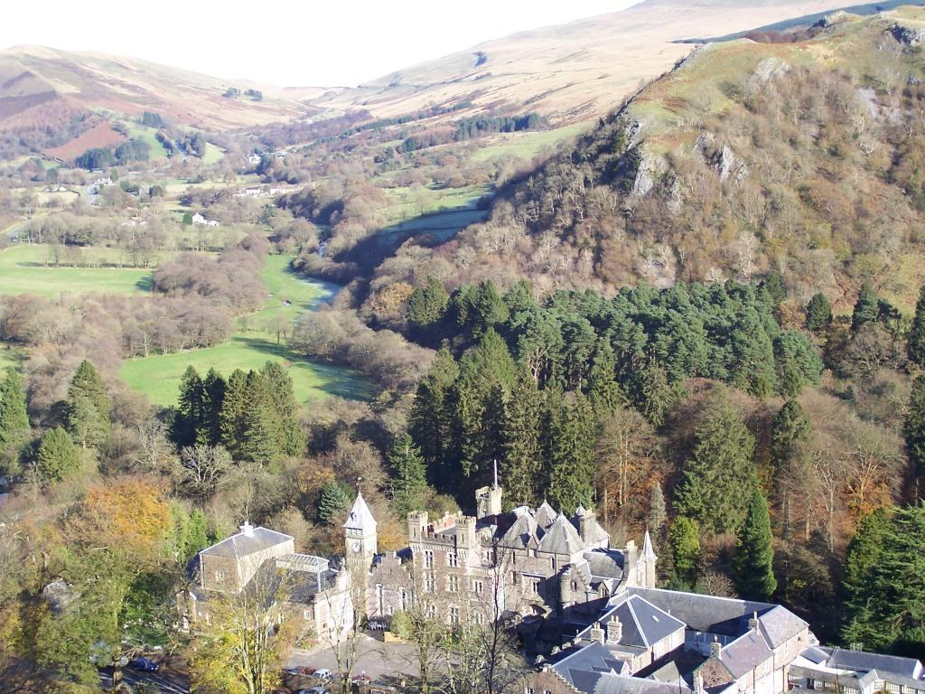 Dog Friendly Hotel Wales, Craig y Nos Castle Aerial Photographs