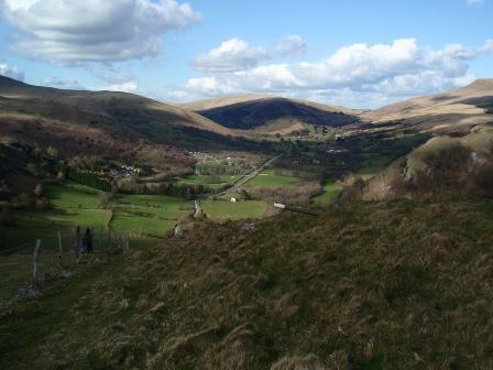 Dog Friendly holiday in Brecon Beacons National Park - Craig y Nos Upper Swansea Valley