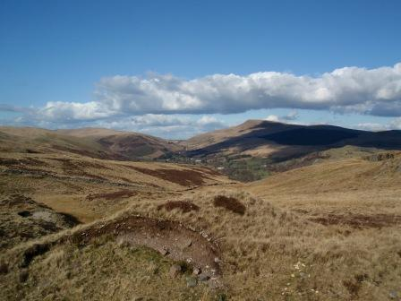 Dog Friendly holiday in Swansea Valley, Wales - Craig y Nos Mountain