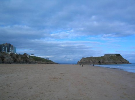 Dog Friendly B&B Wales - a dog's day out in Tenby, long sandy beach